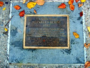 Bulkeley House Plaque