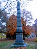Civil War Obelisk 21st Regiment in New London, CT